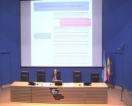 Sesión de clausura do curso superior sobre a nova lexislación administrativa básica(I)